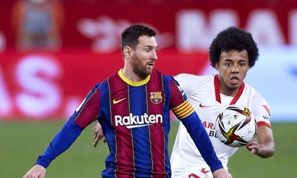 Messi Barcelona Sevilla