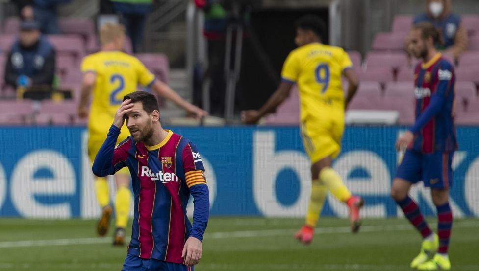 Messi Decepcionado
