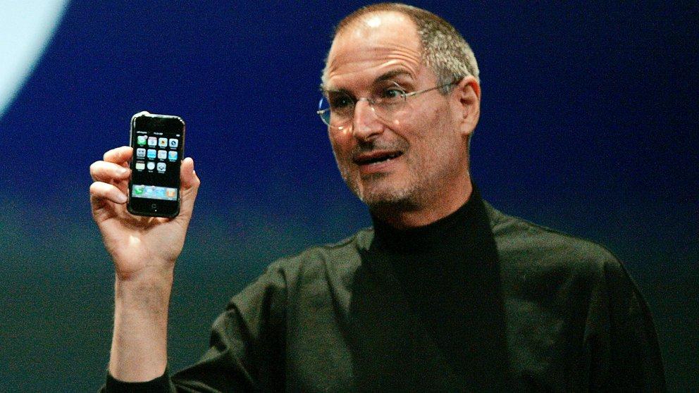 steve jobs primer iphone
