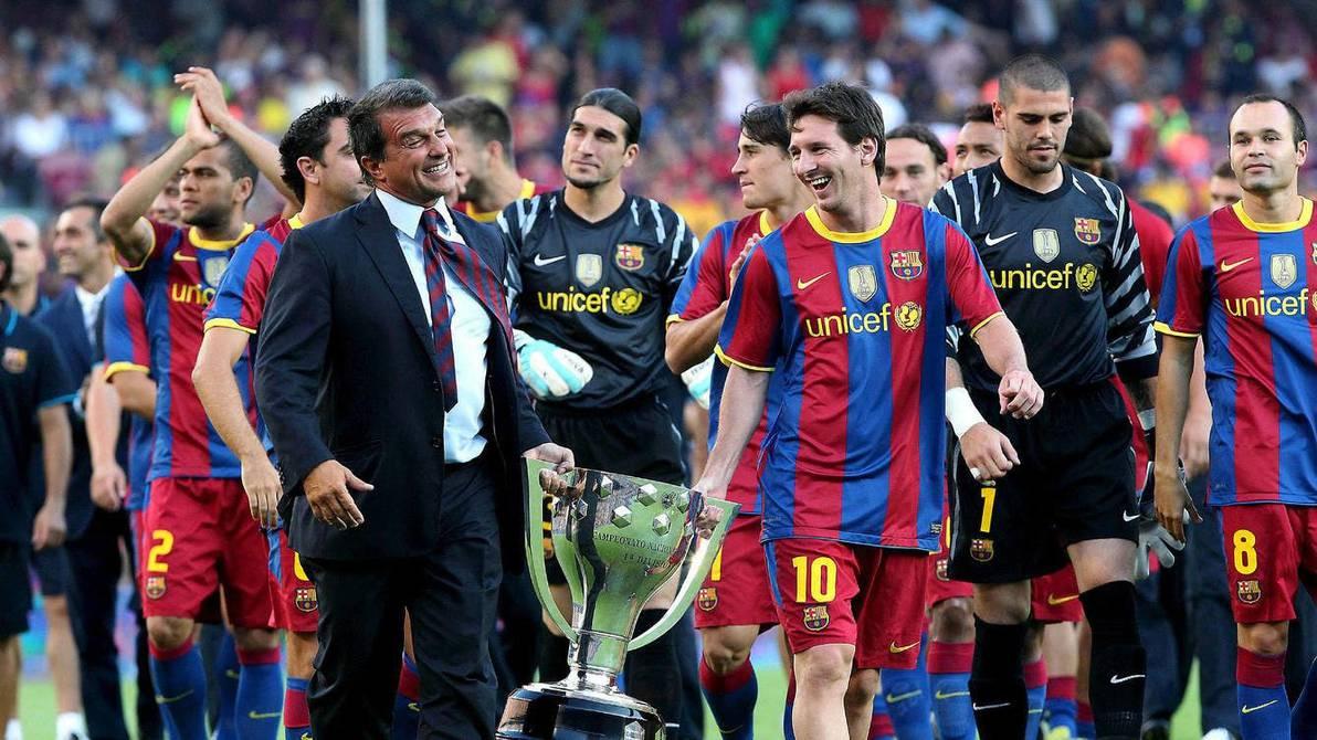 laporta messi barcelona