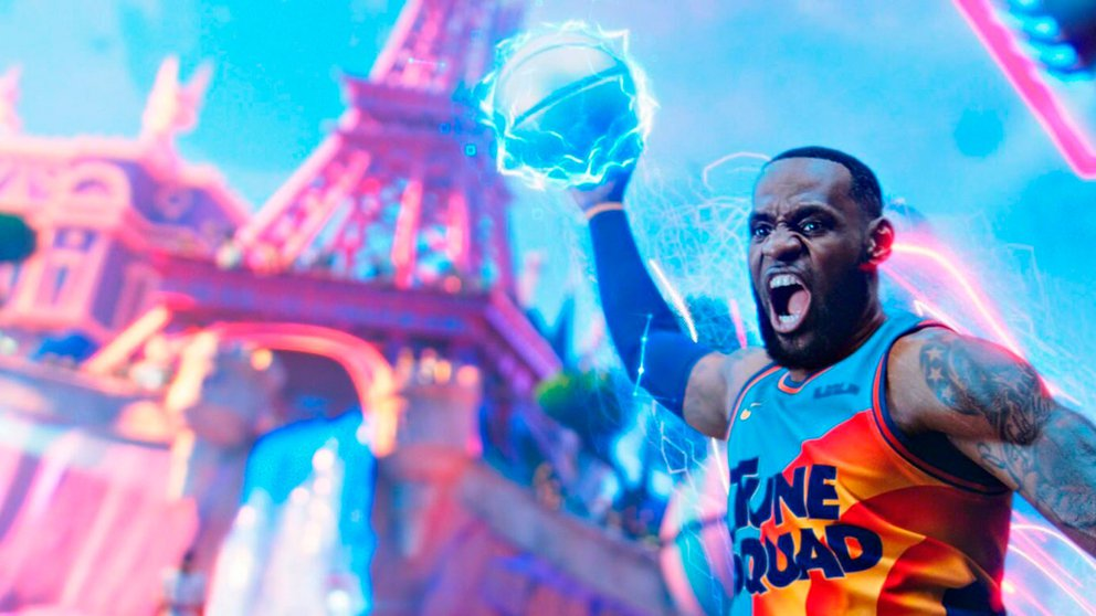 lebron james spacejam