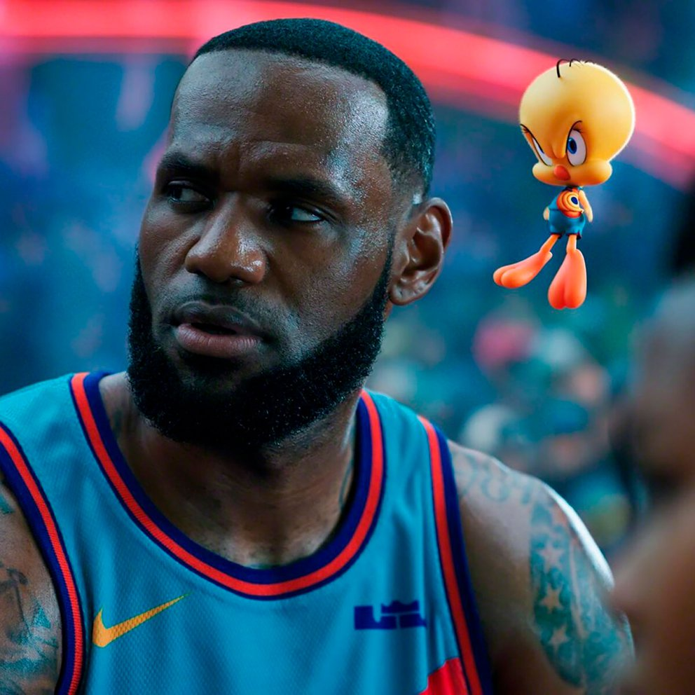 lebron james piolin space jam