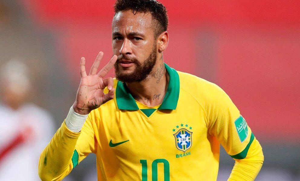 Neymar Brasil Eliminatorias