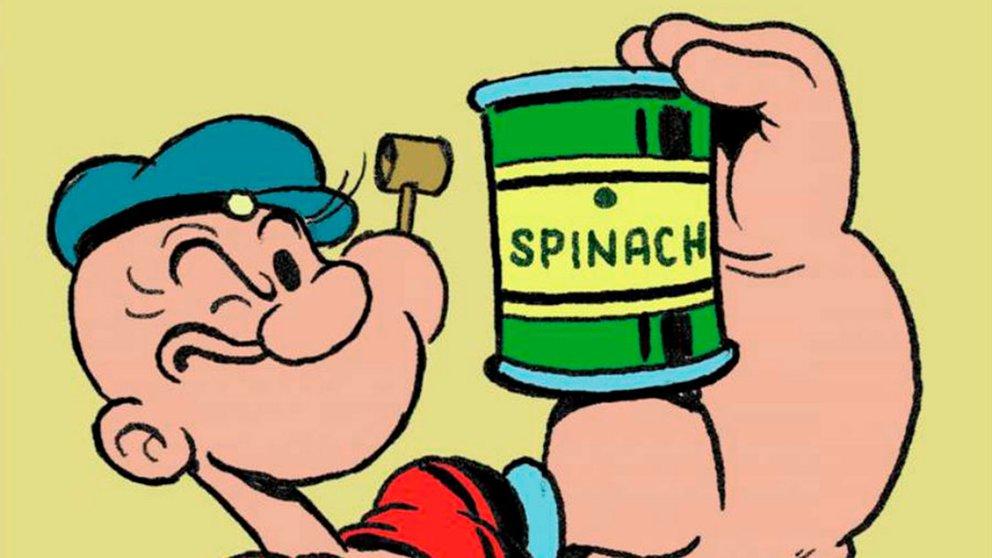 popeye espinaca
