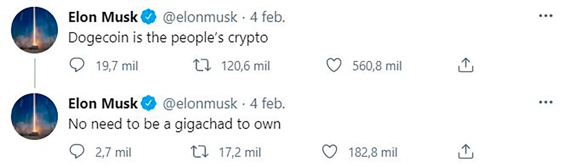 elon musk tweet bitcoin