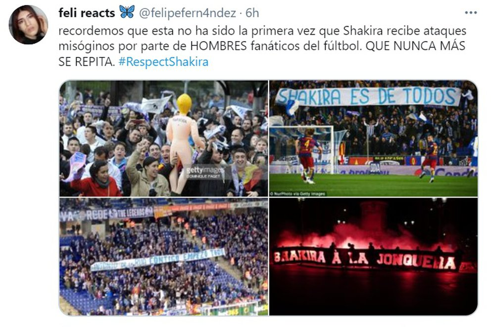 apoyo respectshakira shakira