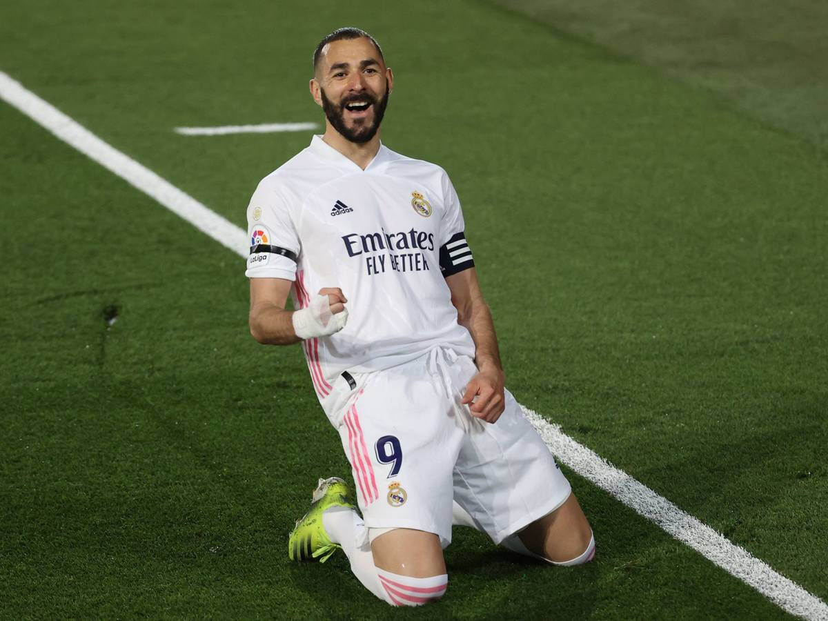 Benzema Real Madrid Lider