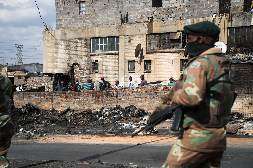 violencia sudafrica