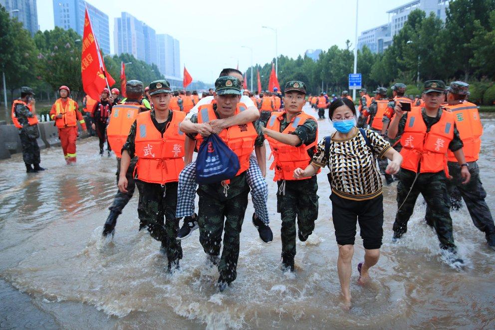 china inundaciones