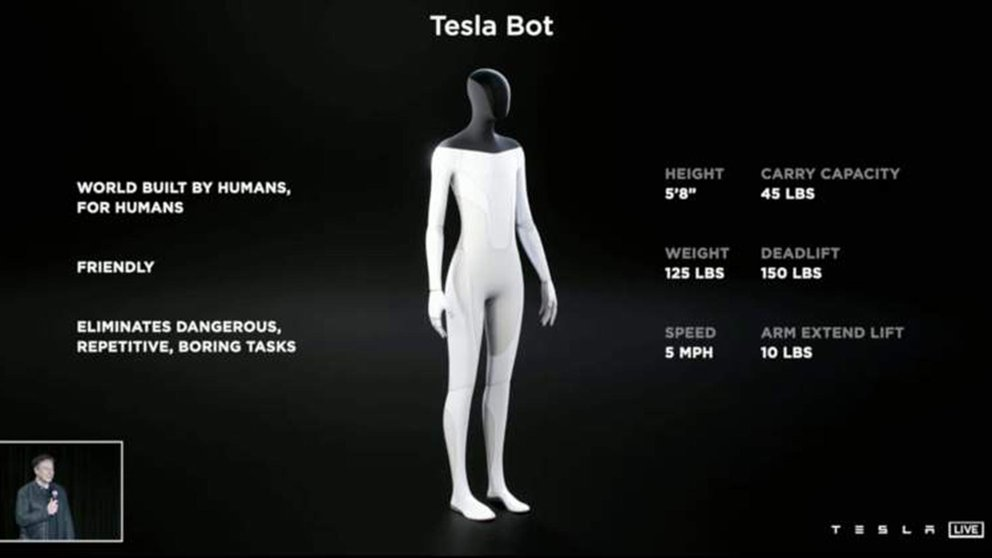 robot tesla