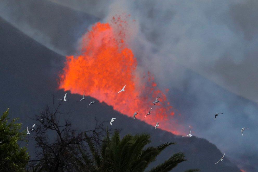 volcan palma