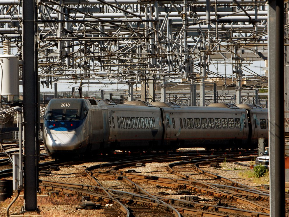 tren descarrilado